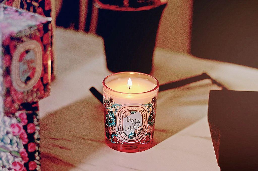 2020限量情人節花樣巴黎香氛蠟燭