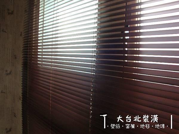 木百葉窗簾安裝 |