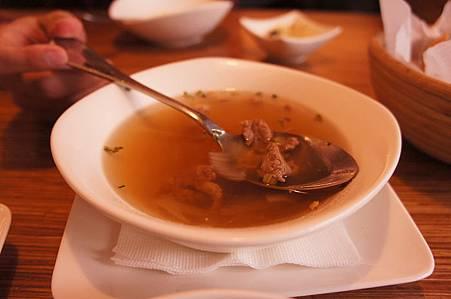 法式牛肉清湯