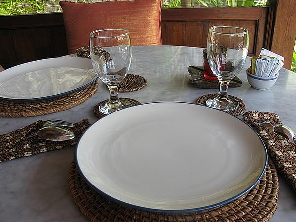 餐具很有質感,比較高檔一點的餐廳