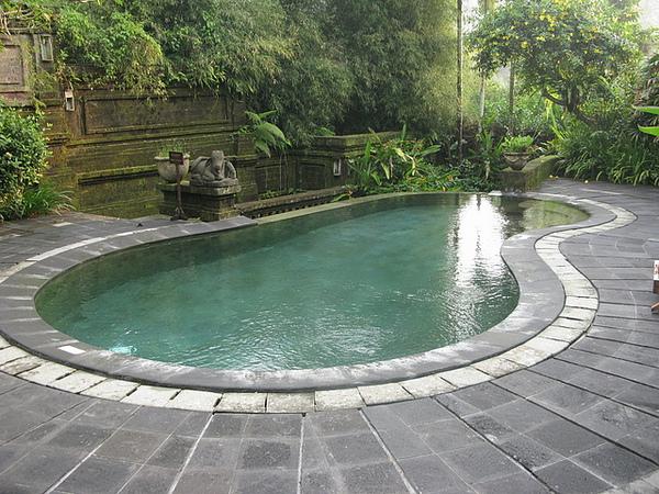 villa少不了的個人泳池