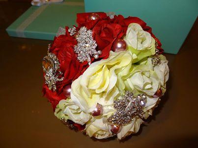 珠寶捧花訂製