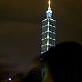 從國父紀念館看台北101