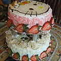Kitty雙層蛋糕