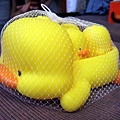 小明叔叔送的鴨鴨沐浴玩具組