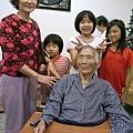 大姨及孫子們和外婆
