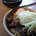 很特別的割稻仔飯和很有古早味的菜