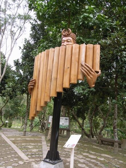 吹排笛, 蠻酷的雕刻