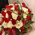 婚紗店的捧花