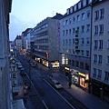 剛起床的慕尼黑街道