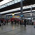 月台就在車站裡