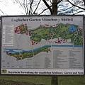英國花園的地圖