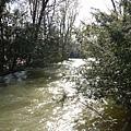 花園裡的河川