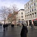 走在慕尼黑市區