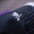 衣服上的雪結晶