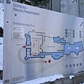 新天鵝堡的Tour路線圖