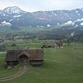 瑞士的風景果然美