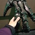 跟恐龍握手