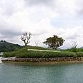 對面的小島