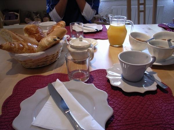 好豐盛的早餐喔~