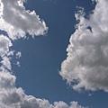 當時的天空