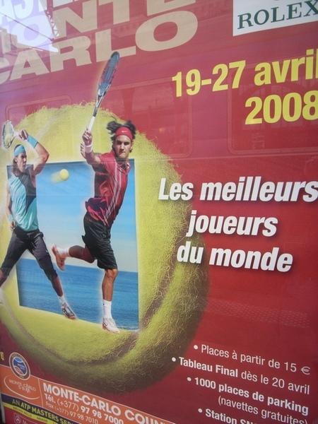 網球公開賽的廣告