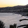 夕陽西下後的黃金海岸