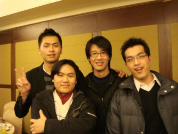 中國男生合照