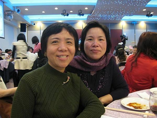 媽媽和朱阿姨