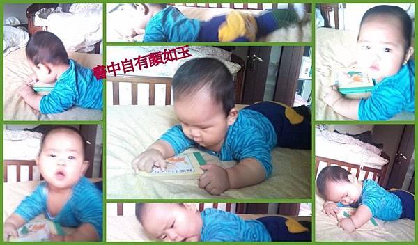 20111226-27弟弟看書與玩窗簾.jpg