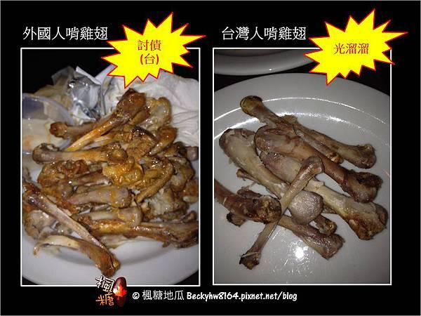 啃雞翅,台灣人大勝!