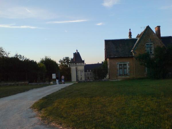 城堡的入口