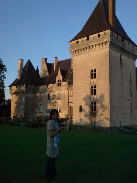 城堡上的影子