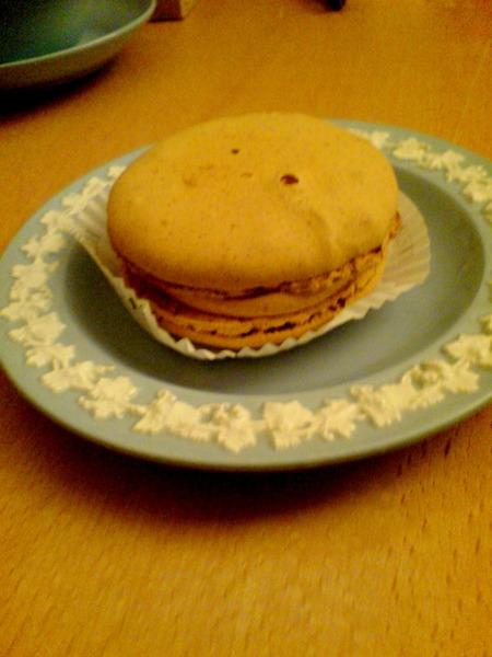 焦糖鹽花Macaron