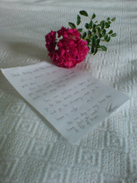 Vero寫給我們的信