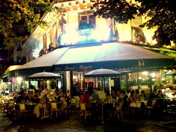 雙叟咖啡館--Les Deux Magots