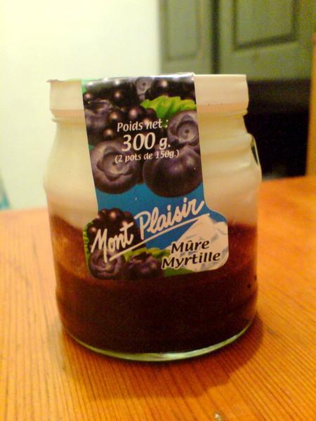 新鮮Blueberry加上香濃的Yogurt~~成為最好吃的優格!