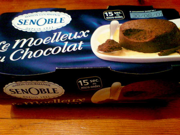 Moelleux Choaolat 巧克力蛋糕