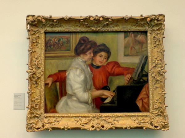 Renoir的畫