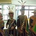 文化課程-傳統服飾伸展台