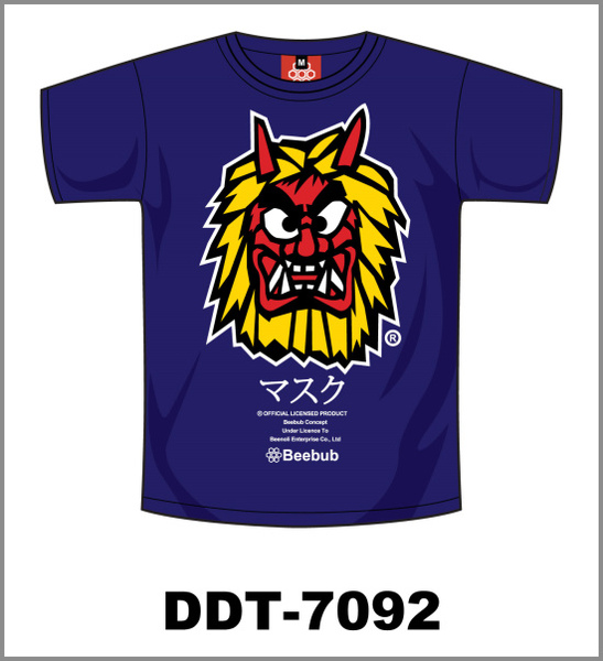 Beebub短袖圖表2009_09舞獅面具.jpg