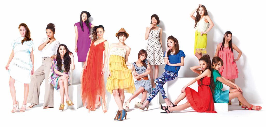 001【模女生死鬥】劇照_本片集結日本一線女模共同主演,揭開日本時尚圈不為外人所知的秘辛