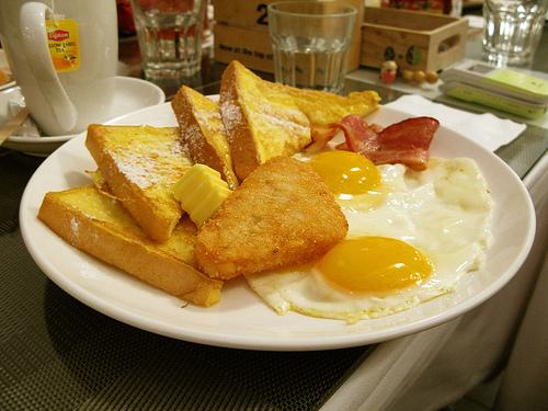 法式土司加太陽蛋