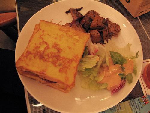 法式土司三明治