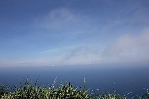碧海藍天,海天一線
