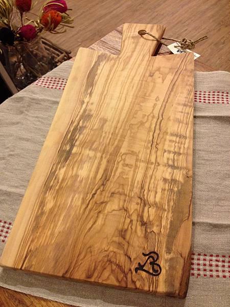 橄欖木砧板01