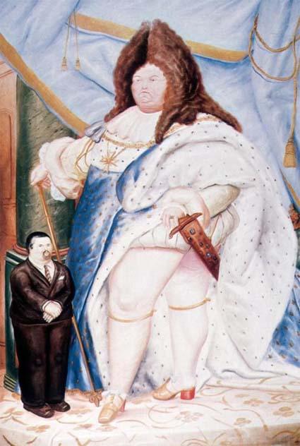 Fernando Botero - Louis XIV