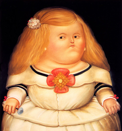 Fernando Botero - Infanta Margarita