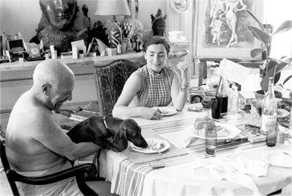 Picasso, Jacqueline and Lump