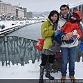 小樽運河合影